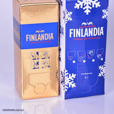 Водка Финляндия в коробке