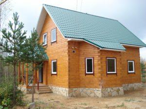 Дома из бруса в Костроме