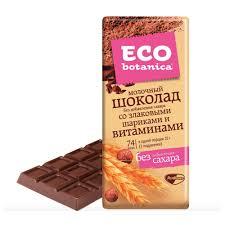 Шоколад Eco Botanica купить